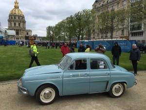 Dauphine électrique remise au gout du jour avec des batteries de la Renault Zoé